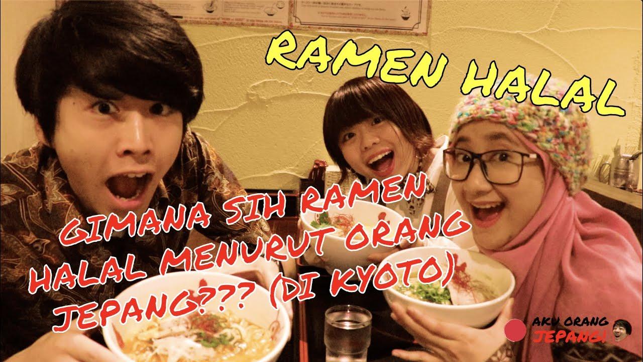 Gimana sih ramen halal menurut orang Jepang??? (di Kyoto)