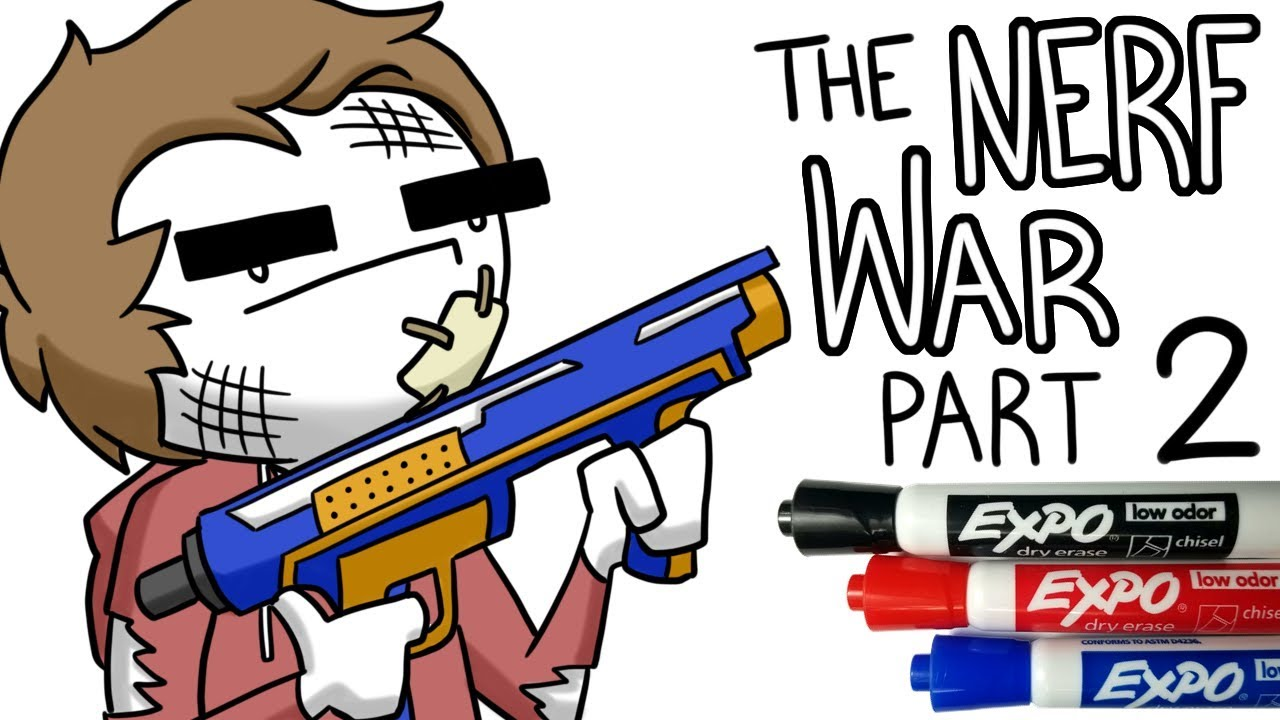 The Great High School Nerf War - Part 2