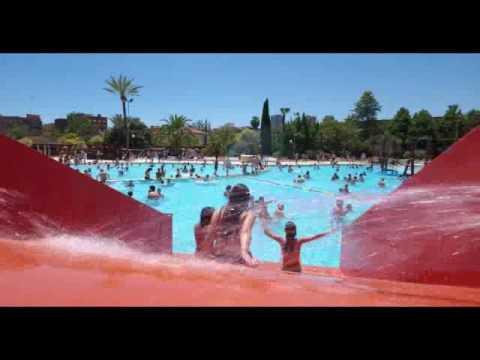 Piscinas aquaval parque oeste y benicalap youtube for Piscina parque benicalap