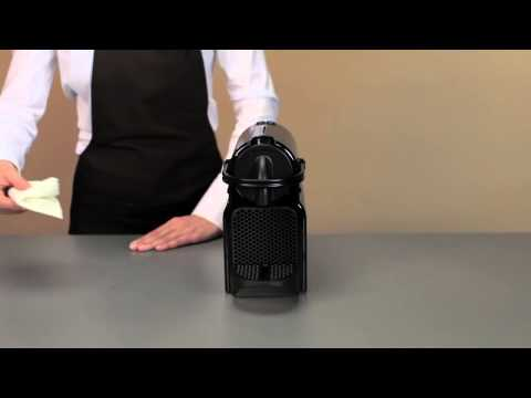 Nespresso Inissia: How to clean your Inissia Machine