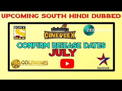 July  5 Upcoming New South Hindi Dubbed Movie Confirm Release Dates  Encounter Raja Hindi Dubbed