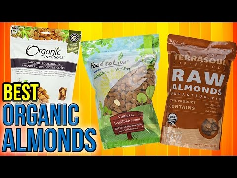 6 Best Organic Almonds 2017 - YouTube
