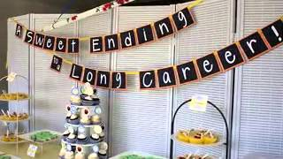 Retirement party decorating ideas