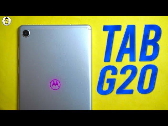 Moto Tab G20 Impressions: Premium Build at a Not So Premium Price!