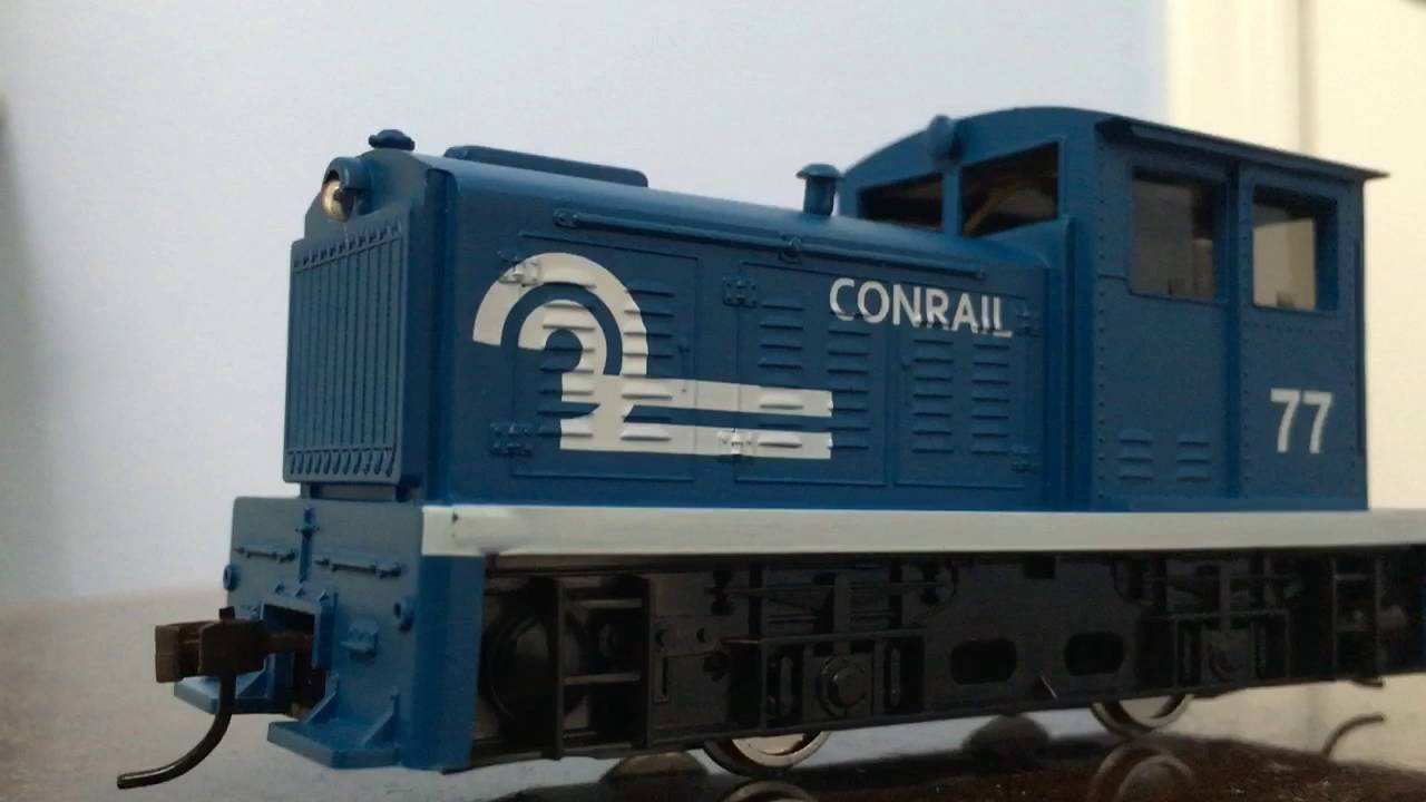 DDT PLYMOUTH INDUSTRIAL DIESEL Model Power HO Scale Locomotive 96674 C.P.