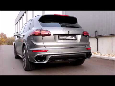 speedart active sound system f r for porsche cayenne s. Black Bedroom Furniture Sets. Home Design Ideas