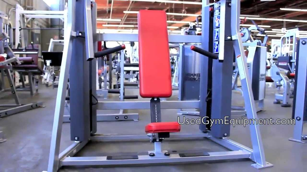 Used Hammer Strength Life Fitness MTS Decline Circuit ...