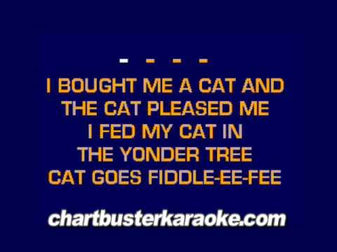 Bought Me A Cat..........(Chartbuster Karaoke)