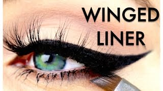 How To PERFECT WINGED LINER  | My Top Tips + HACKS | Ruby Golani