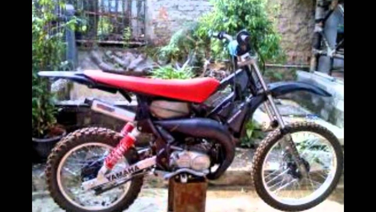 Video Modifikasi Motor Bebek Jadul 2tak Yamaha Force One Modif