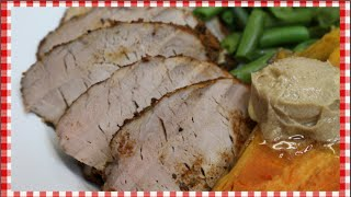 Southwestern Quick Roast Pork Tenderloin ~ Pork Tenderloin Recipe ~ Noreen's Kitchen