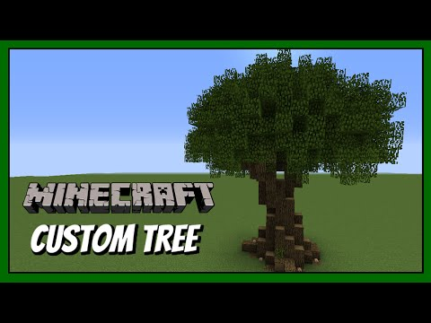 Minecraft How To Build - Custom Tree Tutorial