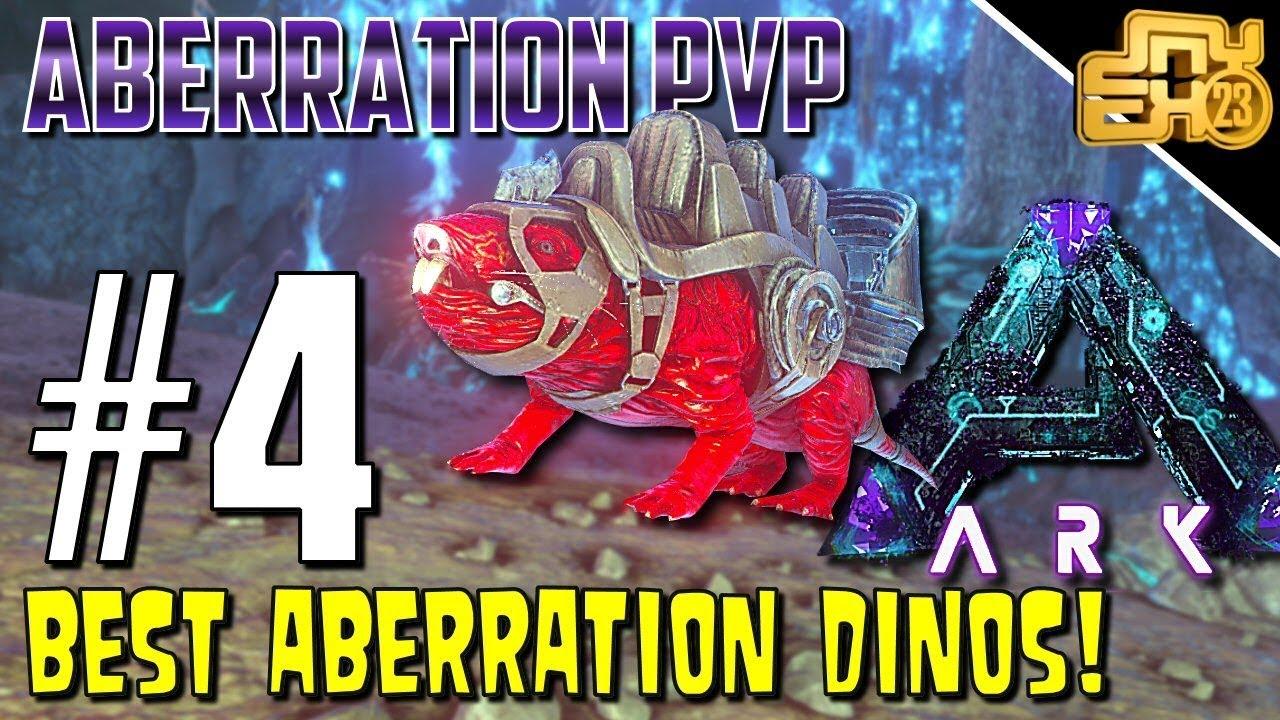 ARK OFFICIAL PVP ABERRATION - S3 EP4 - MY FAVOURITE ABERRATION DINOS