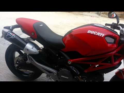 Ducati monster 796 with termignoni w/o db killer