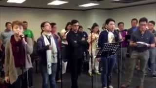 One Day More - Lea Salonga with other artists (In rehearsal)
