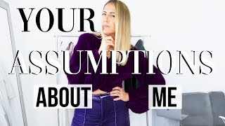 ANSWERING YOUR ASSUMPTIONS ABOUT ME | Lindsay Albanese