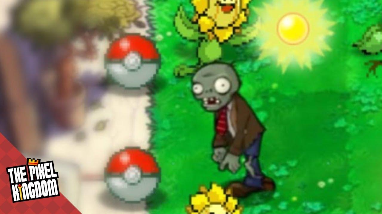 Pokemon Vs Plants Vs Zombies Day 01 Youtube