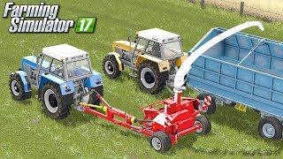 Trawa na kiszonkę - Farming Simulator 17 | #74