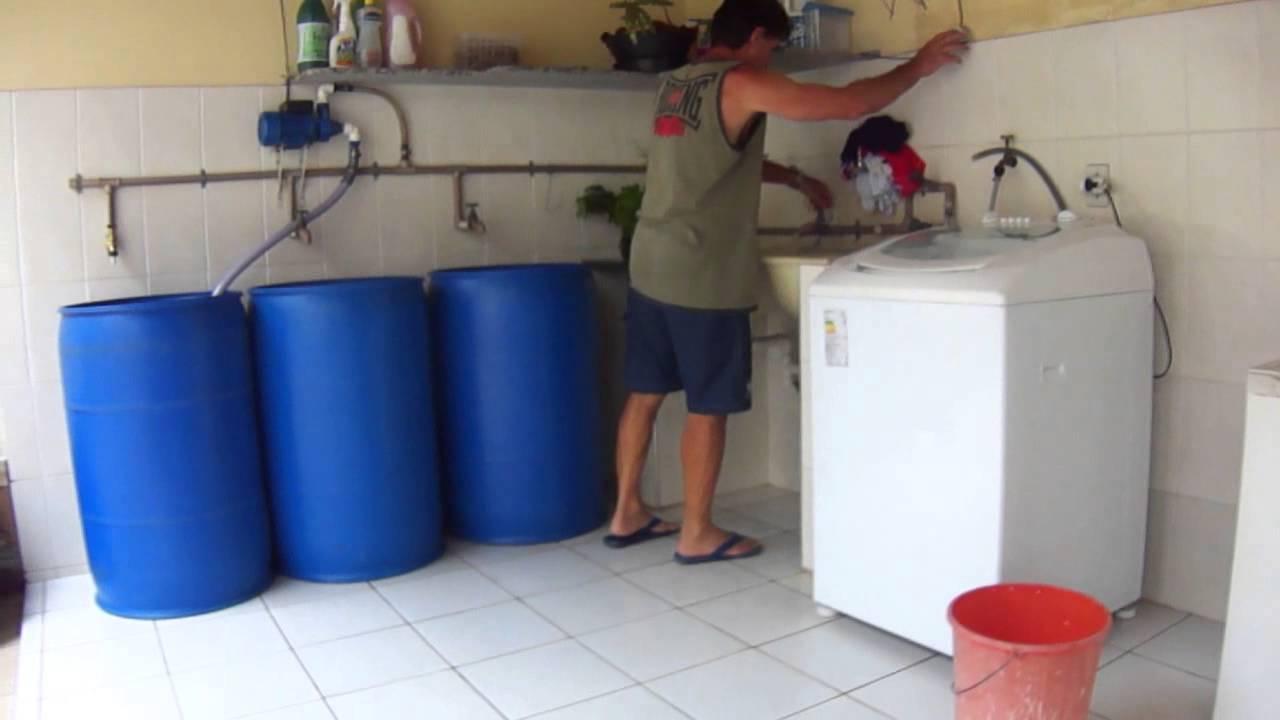 Amado Reutilização da água na Máquina de Lavar Roupas - YouTube IN63