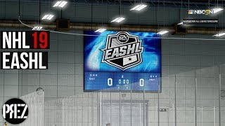 NHL 19 EASHL - ITS GOING INTO OT! (Xbox One X)