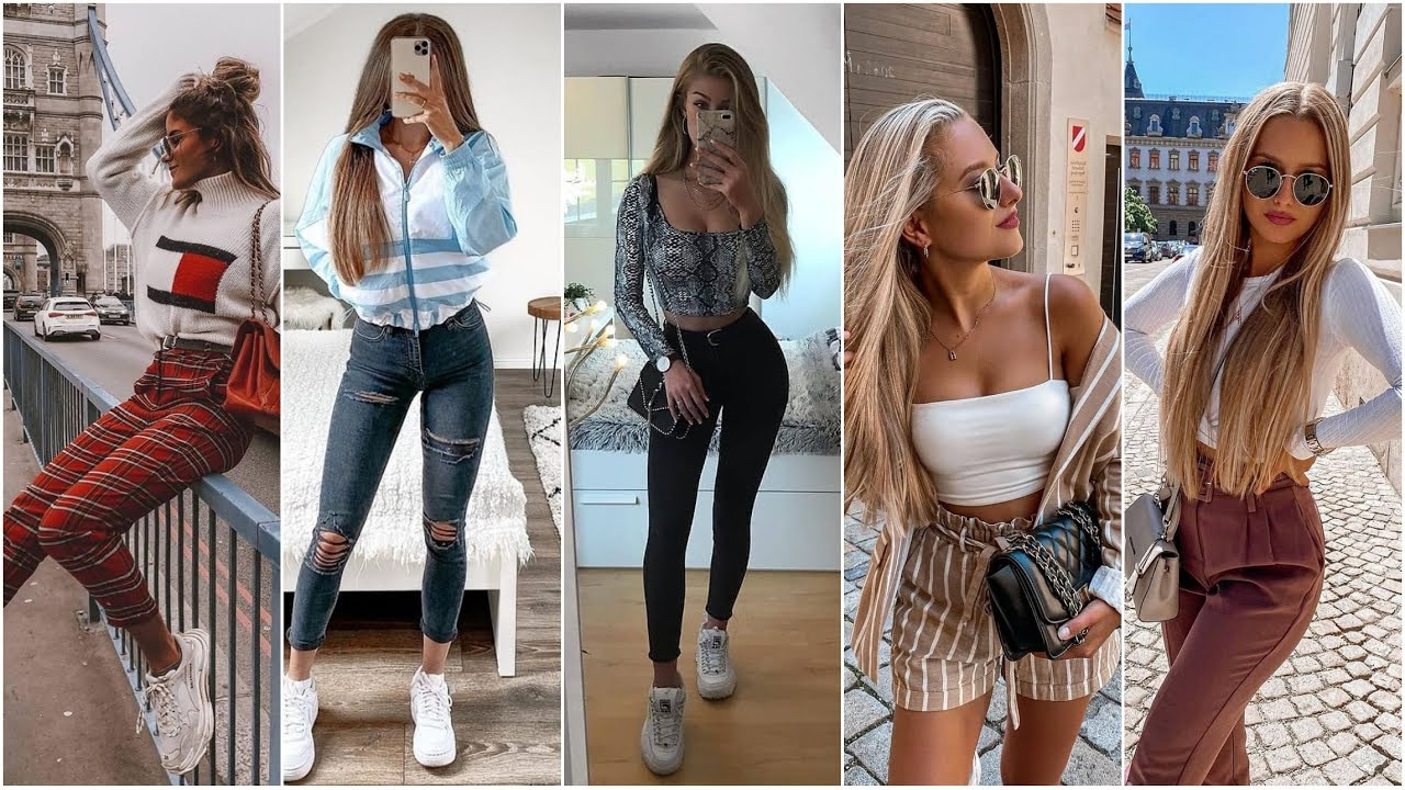 FASHION TRENDS 8-8 /LOOK BOOK (8-8)// CASUAL OUTFITS 8-8//