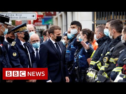 France attack: 'We will never give in', says Macron - BBC News