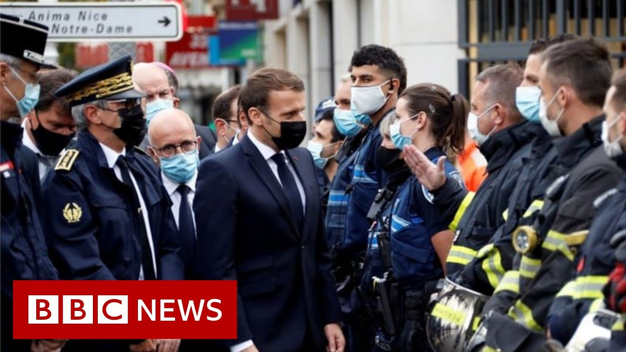 France - Horrific Knife Attack: 'We will never give in', says Macron