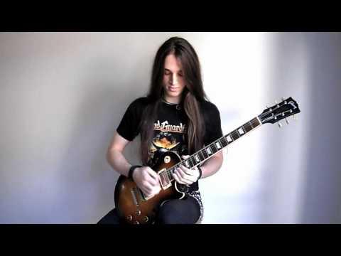Firewind - World On Fire Cover Solo (Garrett Peters)