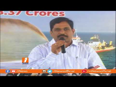Beach Nourishment Through Sand Trap Dredging Works In Visakha Beach | iNews