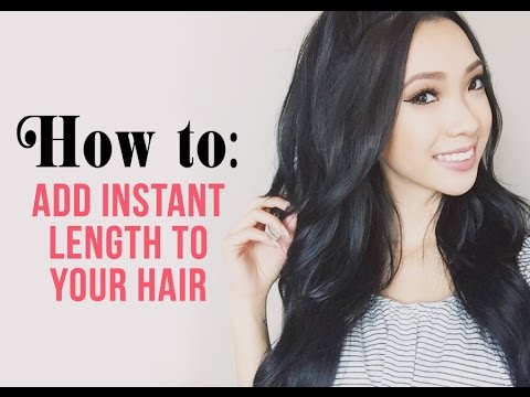 The best hair extensions ever how to get length and volume youtube the best hair extensions ever how to get length and volume pmusecretfo Image collections