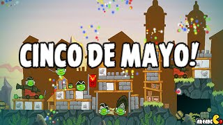 Angry Birds Seasons - The Pig Days 3-13 Cinco de Mayo Walkthrough 3 Stars