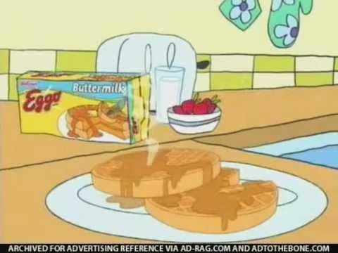 Kellogg S Eggo Buttermilk Waffles Jack 2006 Youtube