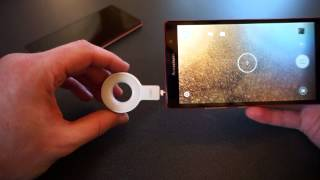 Lenovo VIBE Xtension Selfie Flash hands on