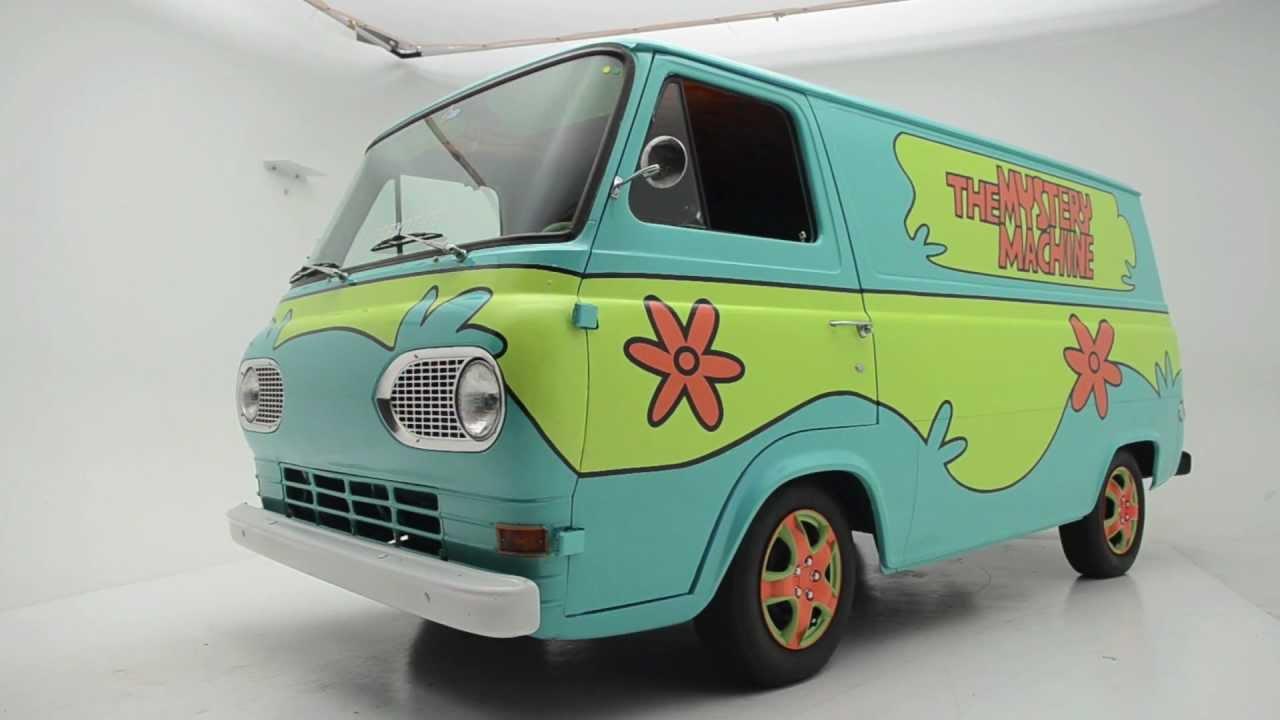 1965 Ford Econoline Mystery Machine Youtube