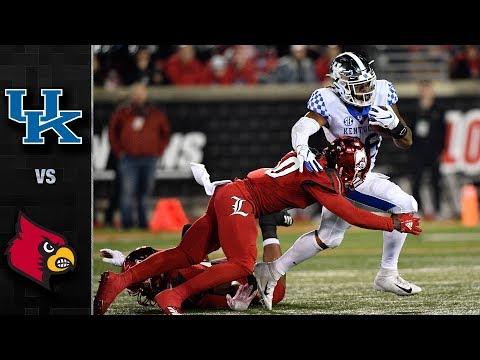 Kentucky vs. Louisville Football Highlights (2018)