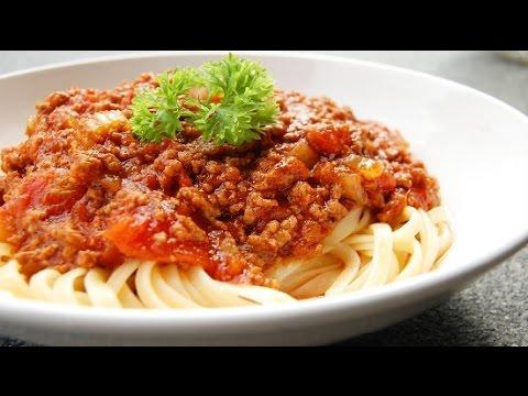 Spaghetti Bolognese Recipe Quick And Easy Youtube