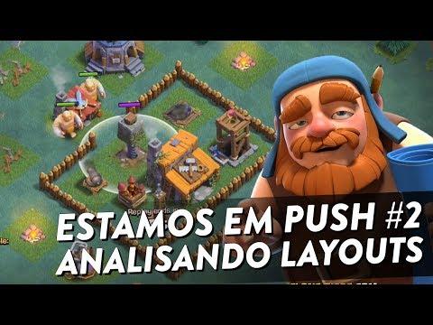 ANALISANDO LAYOUTS NA VILA DO CONSTRUTOR - CLASH OF CLANS