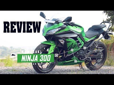 2019 Kawasaki Ninja 300 Detailed Review   Test Ride