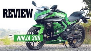 2019 Kawasaki Ninja 300 Detailed Review | Test Ride