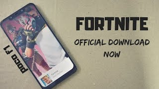 fortnite officially released for poco f1 || download now || || game play ||