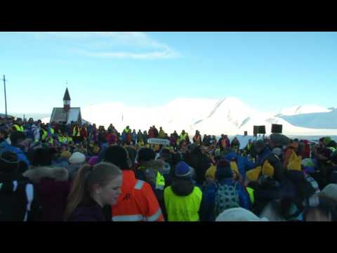 Retour du soleil au Svalbard (Terminus Europe)