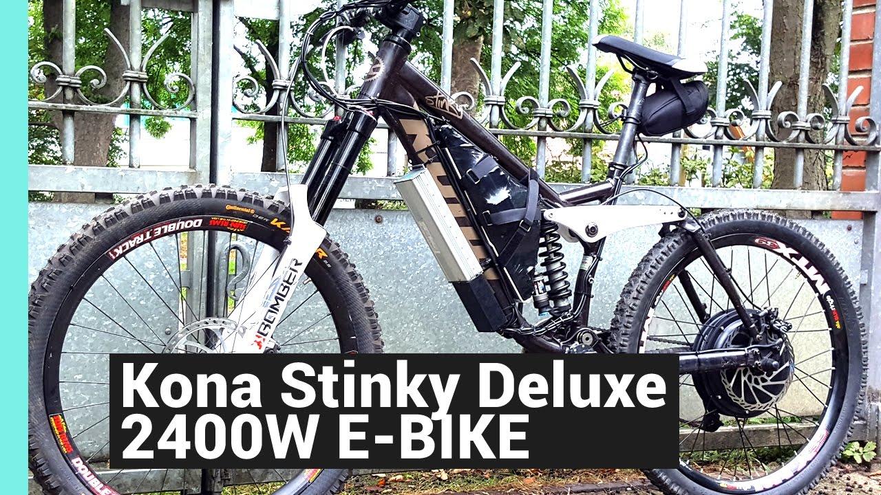 Der Todes E Bike DIY EBIKE KONA STINKY 2000W 60KMH E-DH BIKE 48V 45A ...
