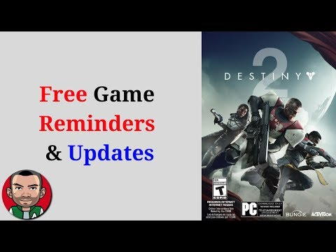 Free Game Reminders and Updates