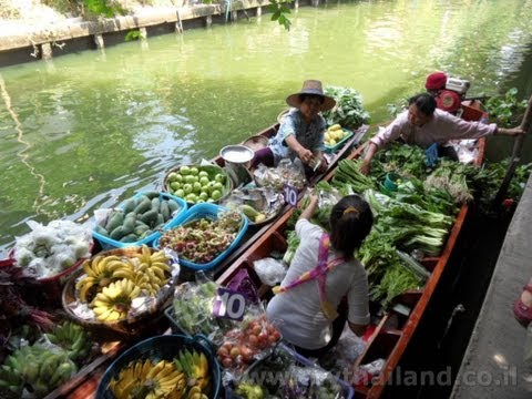 Lat Mayom floating market - Thailand