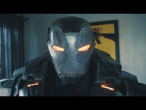 War Machine Mk 4 Infinity War Armor Build for Cosplay :)