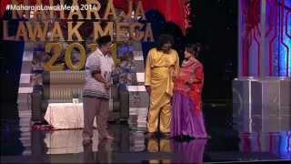 Maharaja Lawak Mega 2014 - Kerusi Panas 2 (Glory)