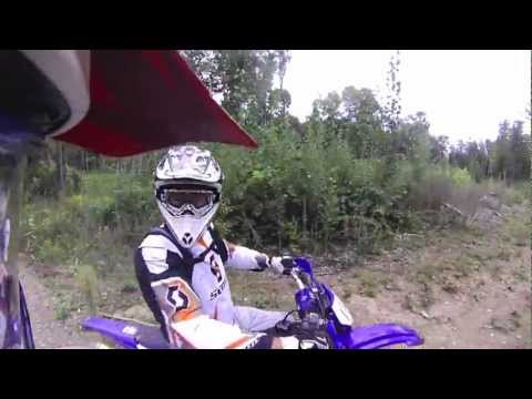 Calabogie Boogie Dirt Biking Trails, Ontario Canada ~ 2012