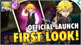 SEVEN DEADLY SINS: GRAND CROSS | Official Launch! FIRST GAMEPLAY!!