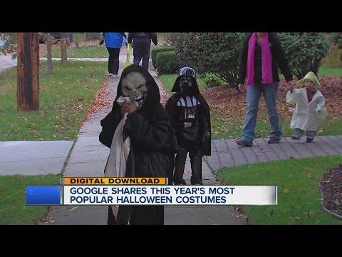 Google shares most popular Halloween costumes