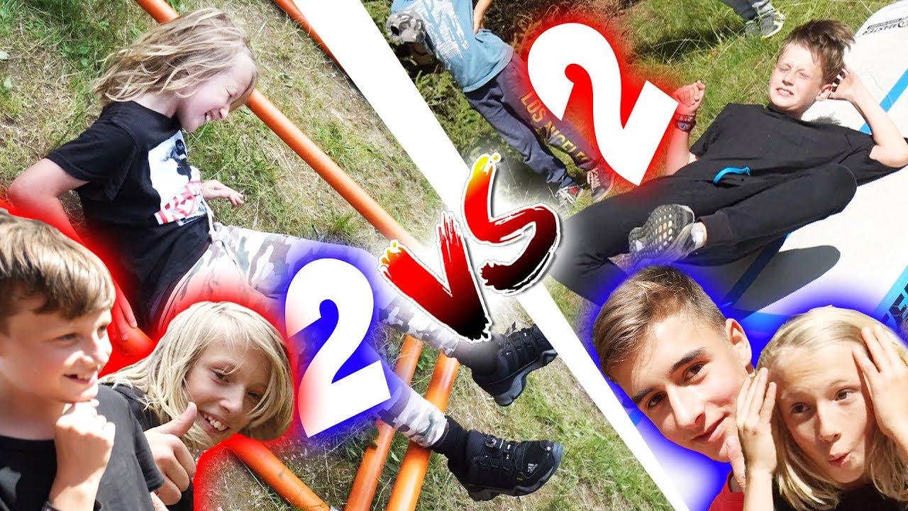 Dětský Parkour Horse Challenge #12 | 2 vs. 2